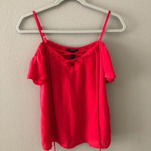 Forever 21 Womens Small Red Top